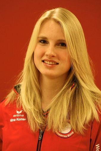 Lange her: Nina Kohler im Jahr 2010 im Villinger Trainingsanzug. Foto: Marc Eich