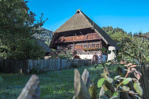 In der Sonderführung wird die  Schwarzwälder Baukultur anhand verschiedener Museumshöfe und Gebäuden in der Umgebung erklärt.  Foto: Freilichtmuseum Vogtsbauernhof Foto: Schwarzwälder Bote
