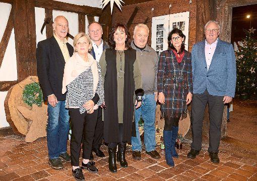 Bei der Ausstellungseröffnung (von links):  Horst Reichert, Elke Sautter, Stephan Henßler, Birgitta Dieterle, Dieter Rehmann und Hans Doll  Fotos: Museum Foto: Schwarzwälder-Bote