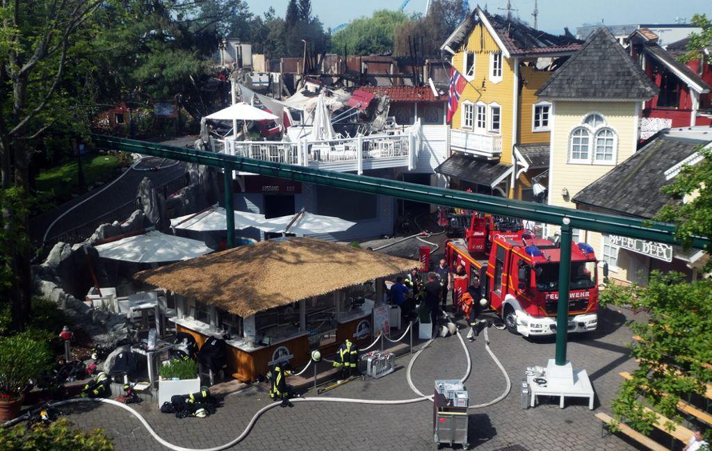 Rust Europa Park Großbrand Richtet Millionenschaden An Offenburg