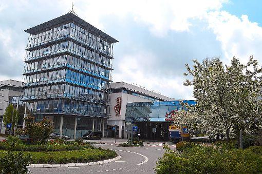 Wird die Bibliothek abgerissen und ins neue Forum integriert? Die Zukunft ist noch ungewiss.   Foto: Kratt