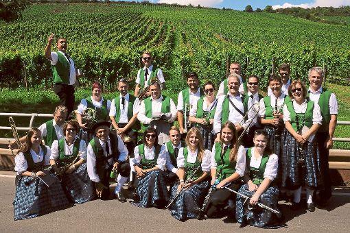 Der Musikverein Obertalheim gab in Nierstein ein überaus gelungenes Gastspiel.  Foto: Peter Foto: Schwarzwälder-Bote