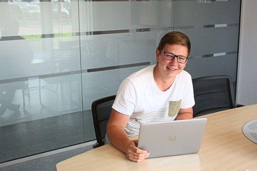 Der 18-jährige Luca Irion macht eine Ausbildung zum IT-Systemkaufmann bei Bizerba. Foto: Privat