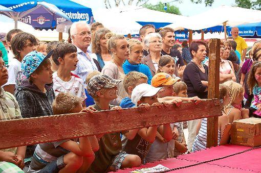 In Mönchweiler gibt es  wieder ein Dorffest. Im Jahr 2011 fand es zuletzt statt.  Foto-Archiv: Hettich-Marull Foto: Schwarzwälder-Bote