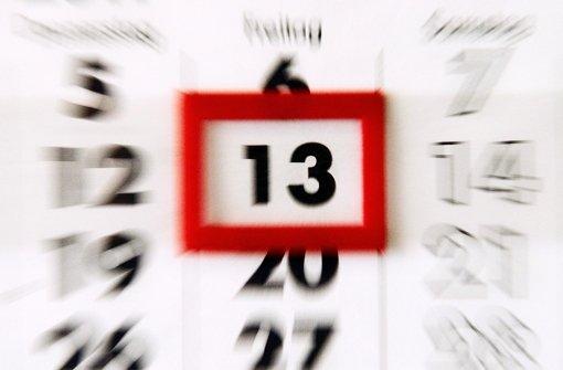 Wenn der 13. auf einen Freitag fällt, wittern viele Unheil. Aber warum eigentlich? Wir haben recherchiert ... Foto: dpa