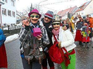 Viel Spaß ist garantiert bei der Fasnet in Dormettingen. Foto: Visel Foto: Schwarzwälder-Bote