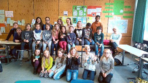 Die Tennenbronner Grundschüler machen neue Erfahrungen.  Foto: Schule Foto: Schwarzwälder-Bote