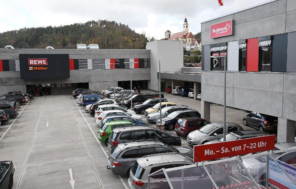 Horb A N Activ Arkaden Laden Und Parkplatze Sind Voll Horb Am