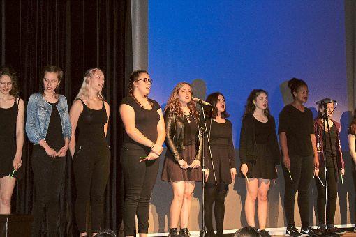 Das Jugendmusical bot tolle Musik und eine ergreifende Story.  Foto: Baum Foto: Schwarzwälder-Bote