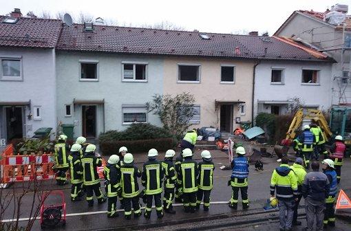 Wegen eines Gaslecks mussten mehrere Häuser in Marbach geräumt werden. Foto: Andreas Rosar Fotoagentur-Stuttgart