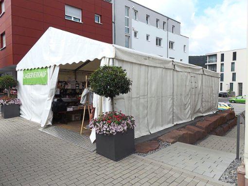 Der Lagerverkauf wurde von Dieben heimgesucht.   Foto: Polizei
