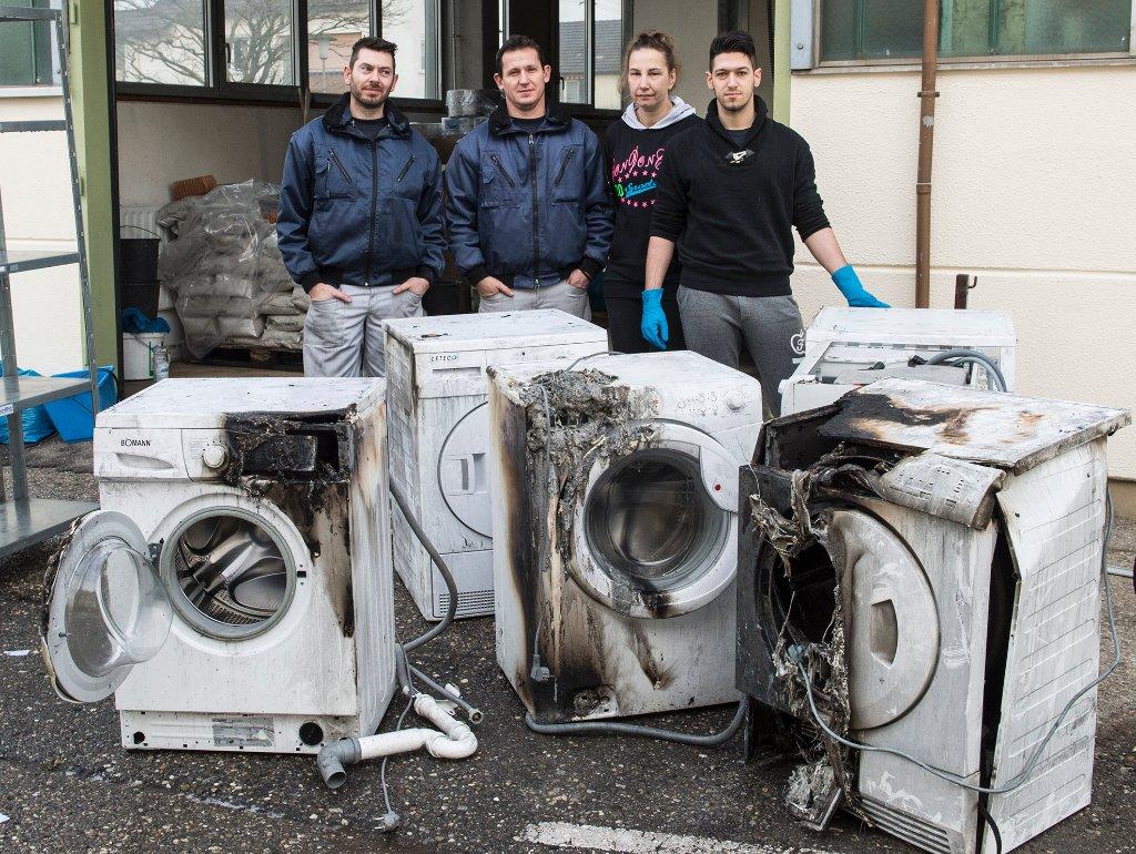 Rottenburg: brand bei everclean schnell gelöscht rottenburg