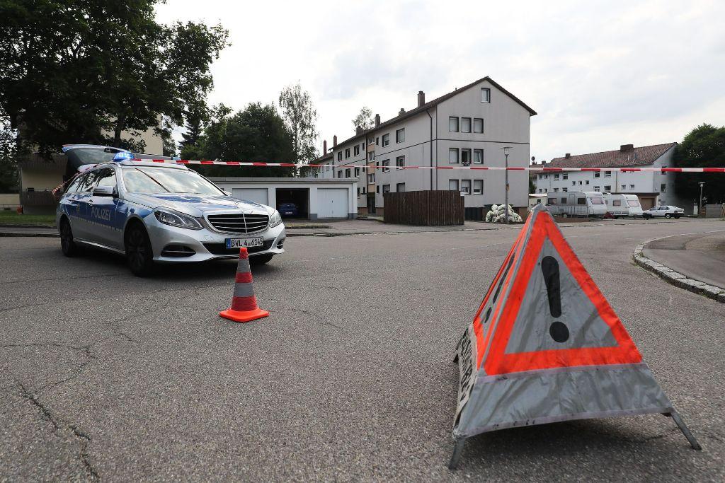 Verdächtiges Paket vor Villinger Flüchtlingsunterkunft: Bombenalarm