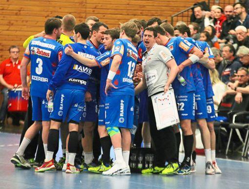 Seit fünf Spielen ohne Punkt – die Handballer des HBW Balingen-Weilstetten. Foto: Kara