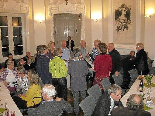 Der Chor Coeurle sorgte für musikalische Unterhaltung beim Mitarbeiterfest des Fördervereins.   Foto: Schropp Foto: Schwarzwälder-Bote