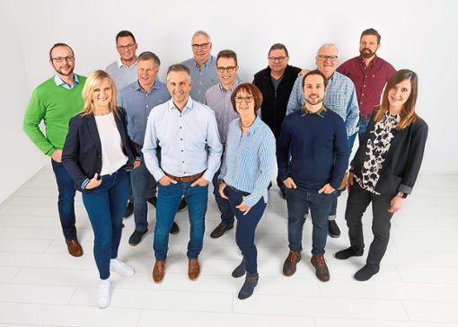Die Kandidaten der Empfinger WIR-Liste stehen in den Startlöchern für die Kommunalwahl   Foto: WIR-Liste Foto: Schwarzwälder Bote