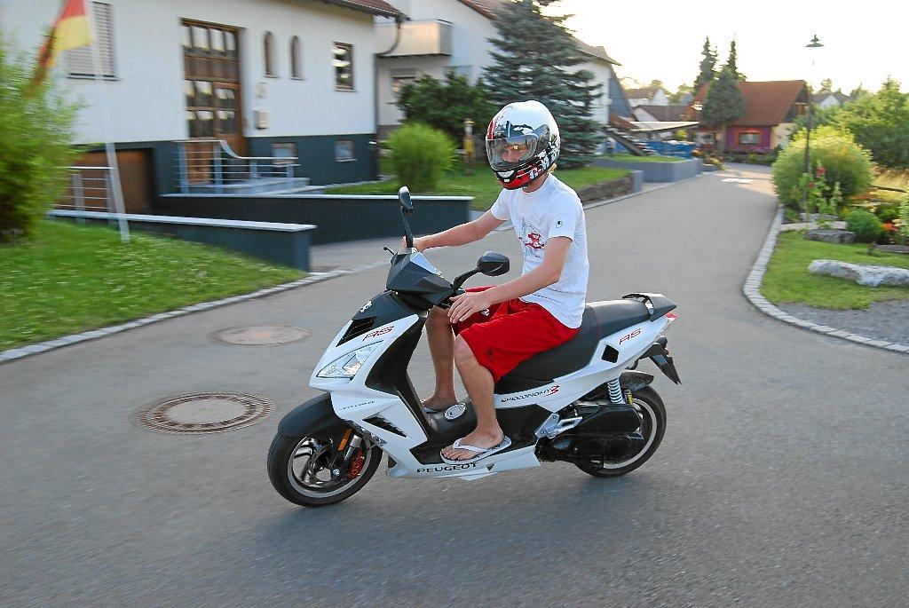 Moped Fahren Mit 15