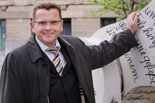 Ministerialrat Ralph Zimmermann ais dem Wirtschaftministerium in Stuttgart will Bürgermeister in Horb werden. Foto: Lück