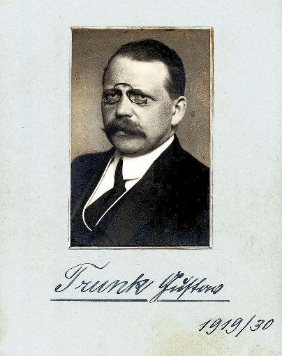 Drei mal hintereinander wurde Gustav Trunk zum Oberhaupt der Republik Baden gewählt.  Foto: Archiv